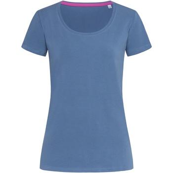 Kleidung Damen T-Shirts Stedman Stars  Denim