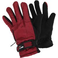Accessoires Damen Handschuhe Universal Textiles  Rot