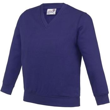 Kleidung Kinder Sweatshirts Awdis  Violett