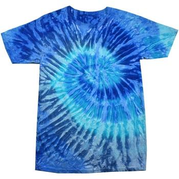Kleidung Damen T-Shirts Colortone Rainbow Blau Jerry