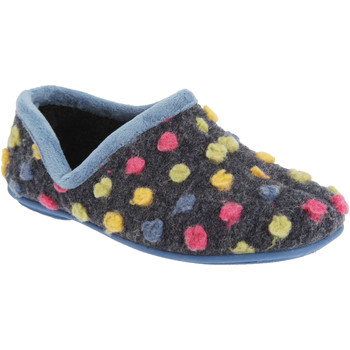 Schuhe Damen Hausschuhe Sleepers  Hellblau/Bunt