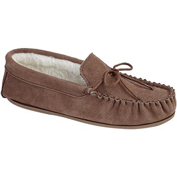 Schuhe Herren Hausschuhe Mokkers  Dunkles Kamel