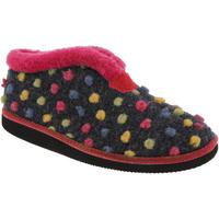 Schuhe Damen Hausschuhe Sleepers Tilly Fuchsia/Bunt
