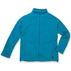 Kleidung Herren Fleecepullover Stedman  Blau