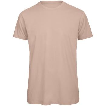 Kleidung Herren T-Shirts B And C TM042 Blassrosa