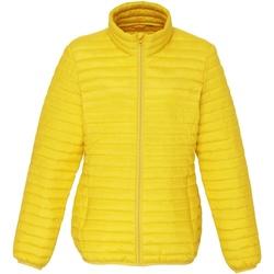 Kleidung Damen Daunenjacken 2786 TS18F Leuchtendes Gelb