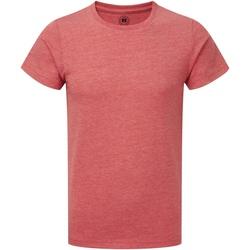 Kleidung Jungen T-Shirts Russell R165B Rot Marl