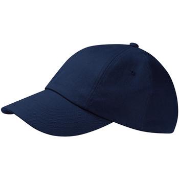 Accessoires Schirmmütze Beechfield Drill Cap Marineblau