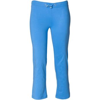 Kleidung Mädchen Jogginghosen Skinni Fit Boot Cut Leuchtblau