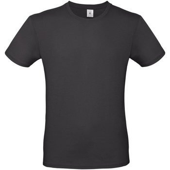 Kleidung Herren T-Shirts B And C TU01T Vintage-Schwarz