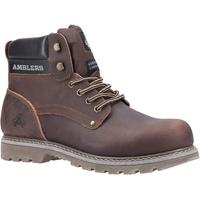 Schuhe Herren Boots Amblers Dorking Mens Boot Braun