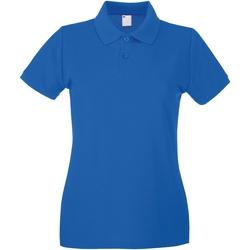 Kleidung Damen Polohemden Universal Textiles 63030 Kobalt