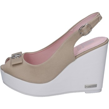 Schuhe Damen Sandalen / Sandaletten Lancetti sandalen segeltuch beige