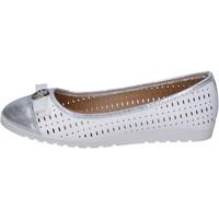 Schuhe Damen Ballerinas Lancetti ballerinas kunstleder weiß