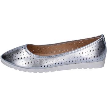 Schuhe Damen Ballerinas Lancetti BP564 silber