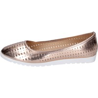 Schuhe Damen Ballerinas Lancetti BP565 bronze