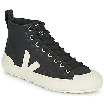 Schuhe Sneaker High Veja NOVA HT Schwarz