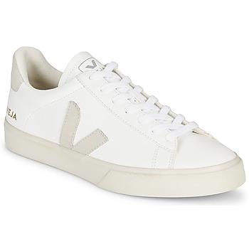 Schuhe Sneaker Low Veja CAMPO Weiss / Grau