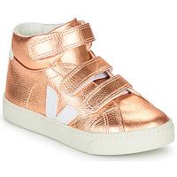 Schuhe Mädchen Sneaker High Veja SMALL-ESPLAR-MID Rose