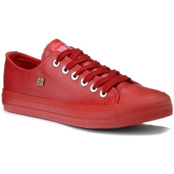 Schuhe Damen Sneaker Low Big Star V274872 Rot