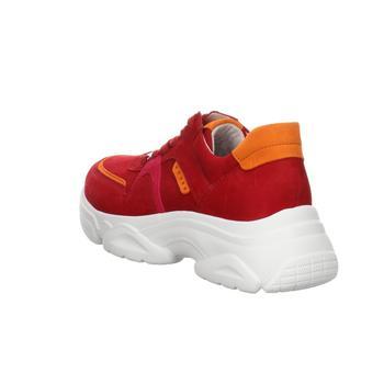 Gabor rubin kombi samtchevreau 43.470.15 rot - Schuhe Sneaker Damen 12500