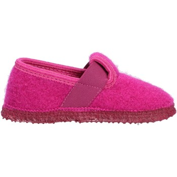 Schuhe Kinder Hausschuhe Giesswein Türnberg, Kinder Hüttenhauschuh rosa/pink