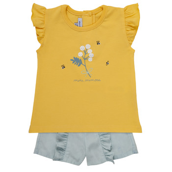 Kleidung Mädchen Kleider & Outfits Absorba CLEMENCE Blau