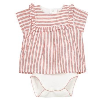 Kleidung Mädchen Pyjamas/ Nachthemden Absorba KYRAN Orange
