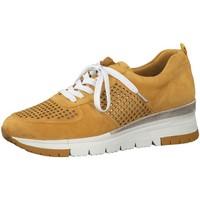 Schuhe Damen Sneaker Low Tamaris Schnuerschuhe Da.-Schnürer 1-1-23745-24/656-656 gelb