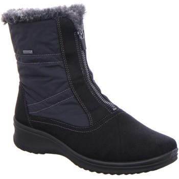 Schuhe Damen Schneestiefel Ara Stiefeletten MÜNCHEN 12-48530-05 schwarz