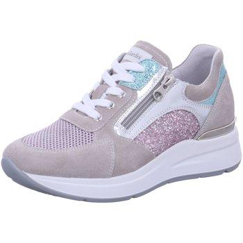 Schuhe Damen Sneaker Low NeroGiardini Schnuerschuhe E0105000D-112 CO beige