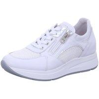 Schuhe Damen Sneaker Low NeroGiardini Schnuerschuhe E010471D-707 CO weiß