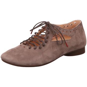 Schuhe Damen Derby-Schuhe Think Schnuerschuhe 6-86285-39 beige