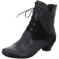 Schuhe Damen Low Boots Think Stiefeletten AIDA SCHWARZ 83261-00 schwarz