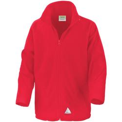 Kleidung Kinder Fleecepullover Result R114JY Rot