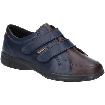 Schuhe Damen Sneaker Low Cotswold  Marineblau/Braun