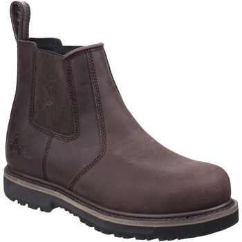 Schuhe Herren Boots Amblers  Braun