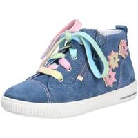 Schuhe Mädchen Sneaker High Superfit Mädchen Lauflernschuhe blau