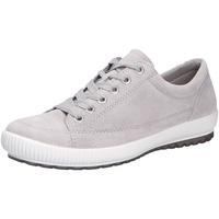 Schuhe Damen Sneaker Low Legero Damen Schnürschuhe grau