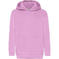 Kleidung Kinder Sweatshirts Fruit Of The Loom 62043 Rosa