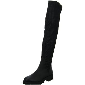 Schuhe Damen Kniestiefel Spm Shoes & Boots Stiefel BLACK OVERKNEE 20167348-02075 schwarz