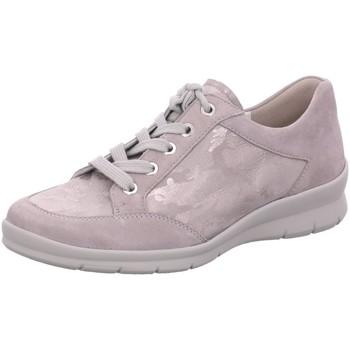 Schuhe Damen Sneaker Low Semler Schnuerschuhe S-CHEV/CAMOUFLAGE X2125492/015 grau