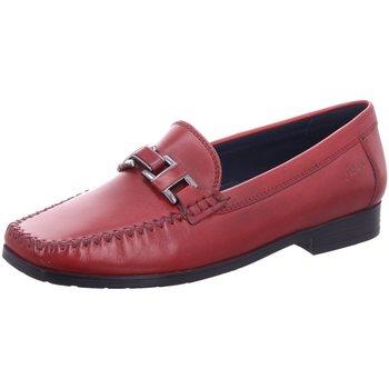Schuhe Damen Slipper Sioux Slipper 60608 rot
