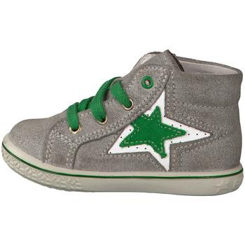 Schuhe Mädchen Sneaker High Ricosta Maedchen PATINA/GRAS 2528200-453 grau