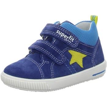 Schuhe Jungen Sneaker Low Superfit Klettschuhe KINDERSTIEFLETTEN LK \ MOPPY blau