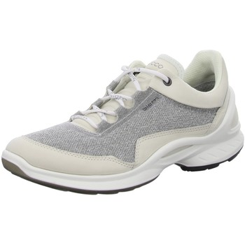 Schuhe Damen Sneaker Low Ecco Schnuerschuhe Biom Fjuel Sneaker 837603-01152 grau