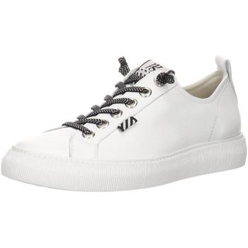 Schuhe Damen Sneaker Low Paul Green Schnuerschuhe 4930 4930-016 weiß