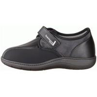 Schuhe Herren Hausschuhe Liromed 850 Schwarz - geschlossener Hausschuh - Verbandschuhe, Schwarz schwarz