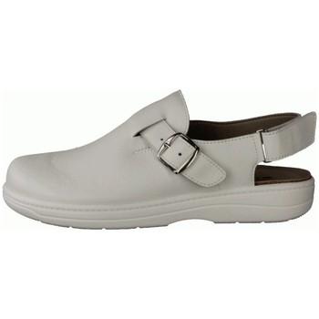 Schuhe Herren Pantoletten / Clogs Slowlies Offene 280 Weiß - Clogs - , Weiß, leder (nappa) weiß