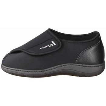 Schuhe Herren Hausschuhe Liromed 840 Schwarz - geschlossener Hausschuh - Verbandschuhe, Schwarz schwarz